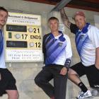 The Kaikorai team that defeated Taieri 21-12 to win the Bowls Dunedin champion of champion...