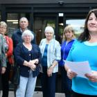 AB Lime Action Group chairwoman Katie Allan (right) spoke to Environment Southland councillors...