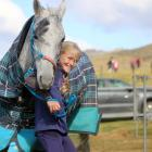 Isla Mutch (11), of Taranaki, and her horse Moondance  will compete in the 120km junior event of...