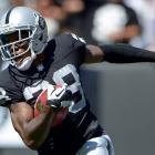 Phillip Adams (28) while playing for the Oakland Raiders in 2013. Photo: Kirby Lee-USA TODAY...