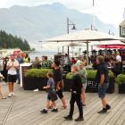 It's a fine day for festivities in Queenstown PHOTO: GUY WILLIAMS