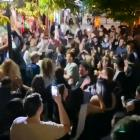 Queenstown erupts into chaos after bars shut at midnight for Easter Sunday.