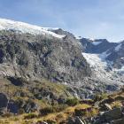 Rob Roy Glacier. Photos: Clare Fraser