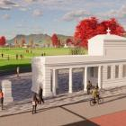 An artist's impression of what the site will look like. Photo: Supplied