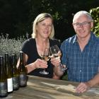 Gary Marsh and Marg Eton-Marsh are producing wine from their Little Domett Estate vineyard, in...