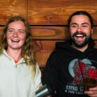 Siblings Leah and Mati Gourlay at their new cafe, Hustl, at Queenstown Central. Photo: Mountain...