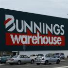 Bunnings Building in South Dunedin. Photo by Peter McIntosh.