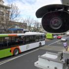 CCTV cameras at Dunedin's bus hub are finally working. PHOTO: GERARD O'BRIEN