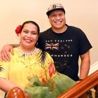 New New Zealander Tanimo Taulafo celebrated her citizenship with her partner Sam Collins in...