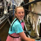 Annabelle Stalker hopes to be able to farm into the future. PHOTO: SUPPLIED BY THE WAIMAKARIRI...