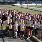All the runners who competed in the Vice President's 5000m race at Forbury Park on Saturday....
