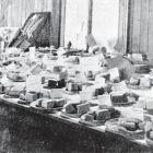 The butter exhibit at the Clutha Valley show, Tuapeka Mouth. — Otago Witness, 7.6.1921. COPIES OF...