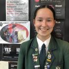 Melissa van der Haegen, Year 12 Columba College.