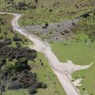 Danseys Pass was left a mess from floods in January.PHOTOS: WAITAKI DISTRICT COUNCIL