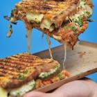 Hungry Hobos' sweet and spicy pulled carrot toastie. PHOTO: CHRISTINE O'CONNOR