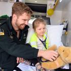 St John ambulance officer Luke Barker, who is also a University of Otago third-year medical...