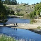 Swimmers would welcome an increased flow of the Manuherikia River in summer. Photo: ODT files