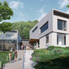 An artist's impression of the new Arthur Street School, construction of which is expected to...