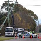 Emergency services have rushed to the scene of a serious crash outside Ashburton today. Photo: NZ...