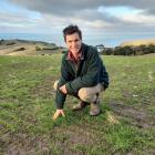 Banks Peninsula farmer Hamish Craw was pleased to finally receive some rain, but feels for Mid...