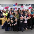 Some of the Clutha Jobbortunities programme's 104 new employees, apprentices, employers,...