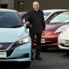 Gilmour Automotive owner Alistair Gilmour, pictured at his sales lot, said despite the Government...