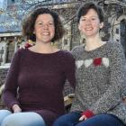 Sisters Dr Cathy Cole (left), of the Centre for Science Communication, and geology postdoctoral...