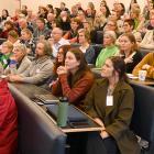 New Zealand history curriculum professional development hui organiser Dr Miranda Johnson speaks...