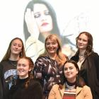 Preparing for the iD International Emerging Designer Awards at the Otago Museum yesterday are ...