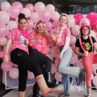 Gumboot Friday organisers Alex North, Emily Taylor, Bella Groen and Mikki Young. Photo: Supplied