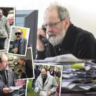 John Gibb has gathered the city's news — shorthand notebook and pen in hand — for more than 30...