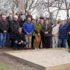 . Descendants of Robert and Margaret Wilson gather in Oamaru to unveil a plaque in their memory....