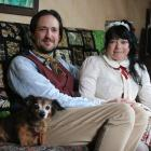 Angela Beesley Mackenzie, husband James and dog Bella are looking forward to spending time at the...