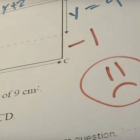 No one picked up an inconsistency between the results of an equation and values shown on a...