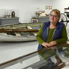 Waikouaiti District Museum Society chairwoman Shirley McKewen looks at the heritage collection...