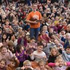 Aroha I Aotearoa got the thumbs up from pupils at St Clair School in Dunedin ...
