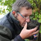George's Truffles owner and New Zealand Truffle Association acting president George Wilkinson...