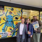 New Zealand International Science Festival team members (from left) director Dan Hendra,...