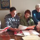 Fairfield Garden Club subcommittee members (from left) Jude Scott, Murray Smeaton, Zelda Matheson...