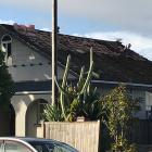 A damaged roof in Papatoetoe. Photo / Instagram: Tony Johnston