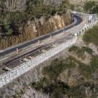 Up to 1.25m is being added to the width of the narrowest parts of Dyers Pass Rd. Photo: Newsline ...