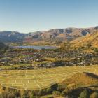 The location of Queenstown's newly-released Kawarau Heights subdivision. Photo: Mountain Scene