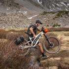 An image showing the Aeroe Spider Rear Rack in use. PHOTO: JASON FITZGIBBON