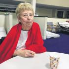 Buller Health patient Sue Wilson was evacuated on Saturday from the hospital to a temporary ward...
