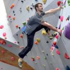 Busy setting up routes for one of the four National Indoor Bouldering Series events, which is...