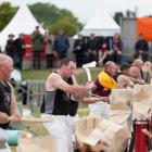 Woodchopping is one of the spectator sports at the New Zealand Agricultural Show. PHOTO:...
