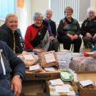 Rural Support Trust Mid Canterbury co-ordinator Frances Beeston (second from left) with Mid...