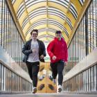 Artificial pancreas trial participants Josh (left) and Ben Stoddart. PHOTOS: GERARD O'BRIEN