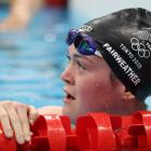 Erika Fairweather after qualifying for the 400m freestyle final in Tokyo last night. Photo; Getty...