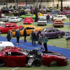Some of the 200 cars on display at the New Zealand Hot Rod Association Zone 10 hot rod clubs'...